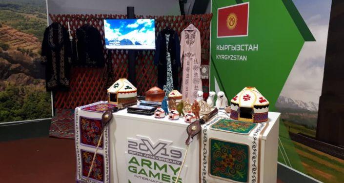Военнослужащие из стран — участниц Армейских международных игр (АрМИ–2019), которые проходят в России, ознакомились с кыргызской культурой