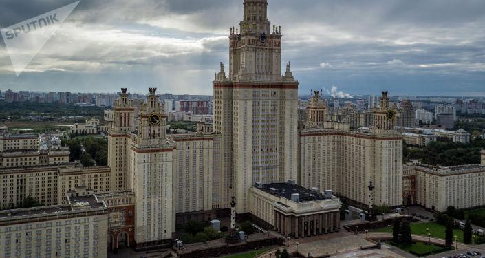 Москва мамлекеттик университети. Архивдик сүрөт