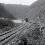 Көк-Мойнок өрөөнүндөгү темир жол полотносу. 1958-жыл