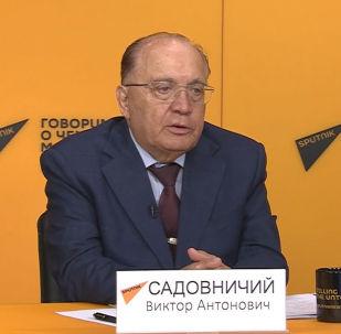 Ректор Московского государственного университета имени Ломоносова Виктор Садовничий рассказал об открытии филиала в Оше.