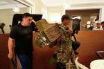 Вооруженные сторонники бывшего президента Кыргызстана Алмазбека Атамбаева охраняют его дом в селе Кой-Таш