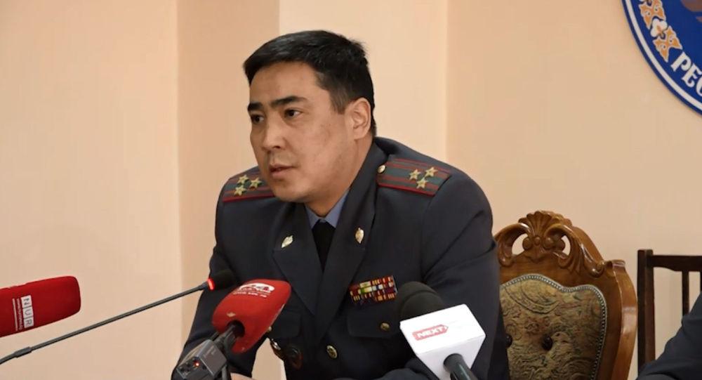 Чүй ОИИББдин мурдагы башчысы Самат Курманкуловдун архивдик сүрөтү
