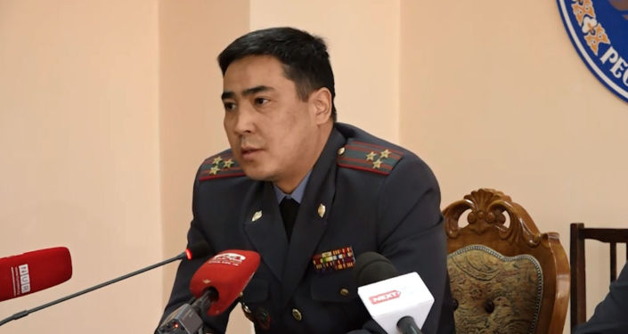 Начальник ГУВД Чуйской области Самат Курманкулов. Архивное фото