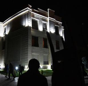 Дом бывшего президента Кыргызстана Алмазбека Атамбаева в селе Кой-Таш
