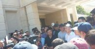 Мурдагы президент Алмазбек Атамбаев Кой-Ташта