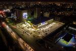 Гиппермаркет Глобус на Южной магистрали. Вид с высоты птичьего полета