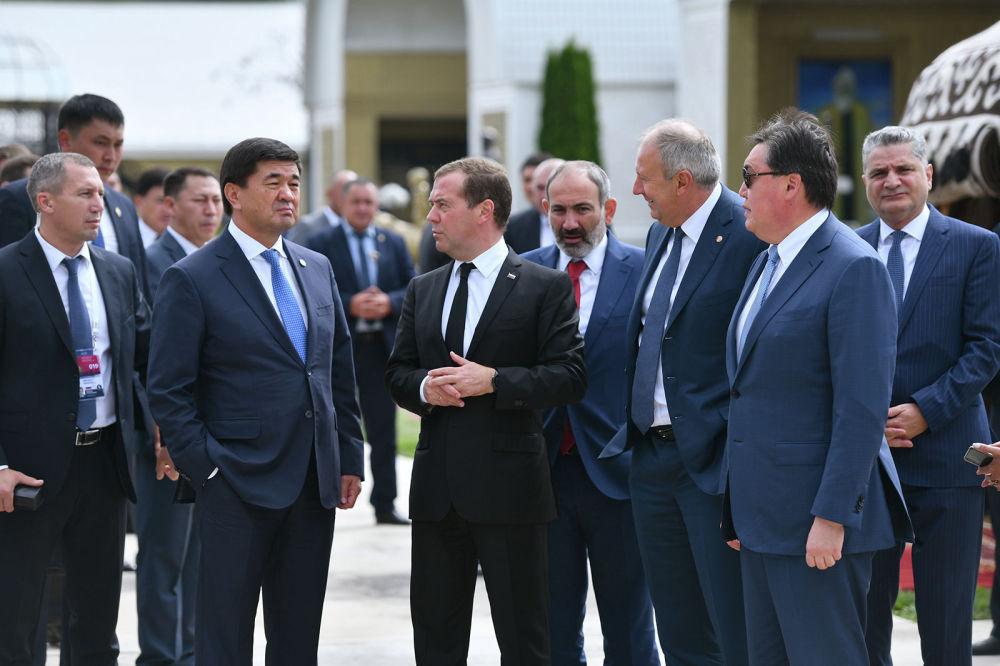 Заседание глав правительств стран ЕАЭС впервые провели на Иссык-Куле