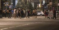 Бишкек шаарындагы бейбаштык. Архивдик сүрөт