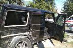 Калык Акиев менен Михаил Фрунзе көчөлөрүнүн кесилишинде Mercedes-Benz G-класс үлгүсүндөгү унаа менен Toyota Ipsum кагышты