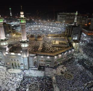 Меккедеги Масджид аль-Харам мечити. Архив