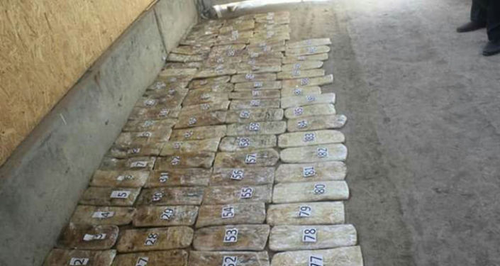 В городе Кара-Куль Джалал-Абадской области  в грузовике было обнаружено 44,3 килограмма героина