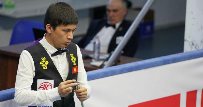 Кыргызстанец Азиз Мадаминов на Чемпионате мира по бильярдному спорту Свободная пирамидав Чолпон-Ате