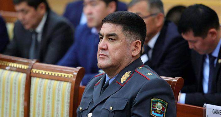 Заместитель министра внутренних дел Курсан Асанов. Архивное фото