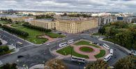 Площадь Растрелли в Санкт-Петербурге. Архивное фото