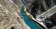 Река Нарын в Нарынской области