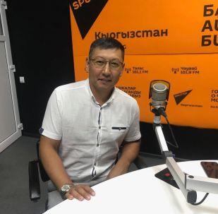 Руководитель административной службы Российско-Кыргызского Фонда развития Максат Сазыкулов