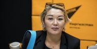 Экономика министрлигинин ишкерликти жөнгө салуу боюнча башкармалыгынын башчысы Акылай Кожомбердиева