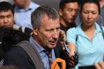 Мурдагы президенттин жактоочусу Сергей Слесарев. Архивдик сүрөт