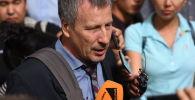 Архивное фото Адвоката  Алмазбека Атамбаева Сергея Слесарева