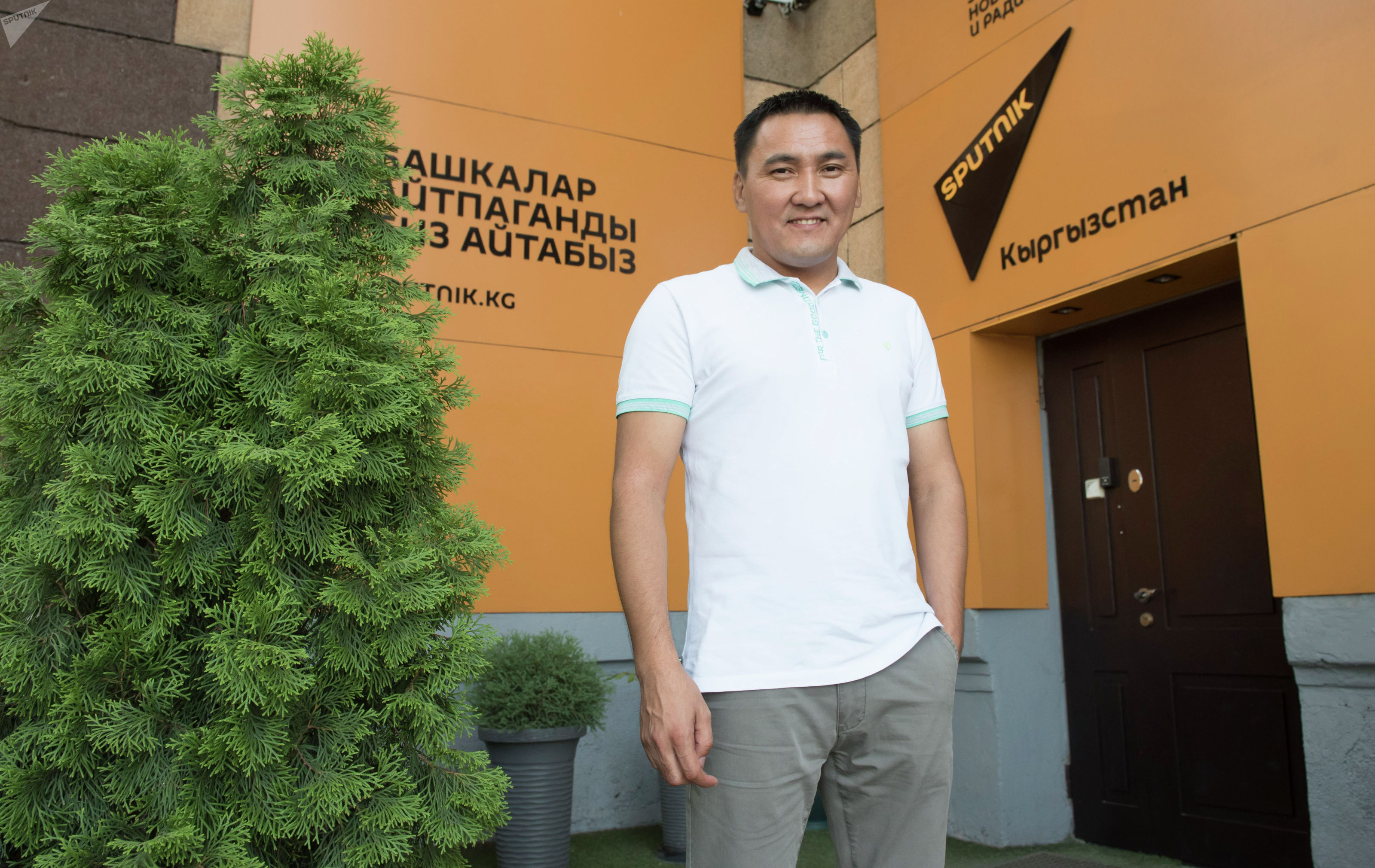 Бизнес-тренер Канат Абдилов