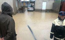 Последствия схода сели в Иссык-Кульском и Тонском районе Иссык-Кульской области