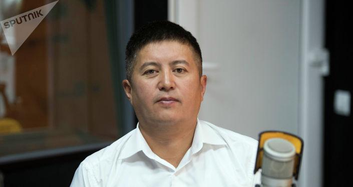 Исполнительный директор Государственного фонда интеллектуальной собственности при Кыргызпатенте Улан Сыдыков