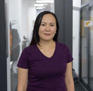 Проектный менеджер одного из коммерческих банков Кыргызстана Алмагуль Кадышева