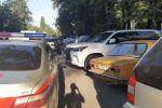 Штрафование водителя экс-кандидата в президенты Омурбека Бабанова за тонировку автомобиля