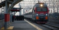 Пассажирский поезд. Архивное фото