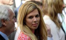 Девушка нового премьер-министра Великобритании Бориса Джонсона Кэрри Саймондс. Архивное фото