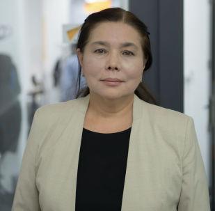 Дочь великого кыргызского художника Кулчоро Керимбекова Нур Кулчоро-Керим