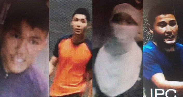 Подозреваемые в совершении хулиганства в ночь на 9 августа