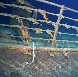 Как разрушается Титаник — ученые сняли видео на дне Атлантики