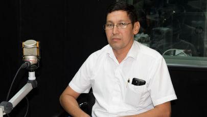 Экологиялык жана техникалык коопсуздук боюнча мамлекеттик инспекциянын өрт коопсуздугу боюнча тескөөчүсү Мирлан Кылычбеков