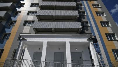 Многоэтажный дом. Архивное фото