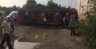 На месте ДТП с пассажирским автобусом в Перми. Архивное фото