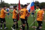 В Бишкеке состоялся матч между командами российской авиационной базы ОДКБ Кант и Арт-футбол (звезды эстрады, театра и кино Кыргызстана).