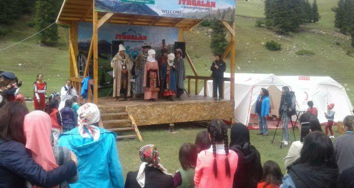 Фестиваль J-Fest в селе Жыргалан Иссык-Кульской области