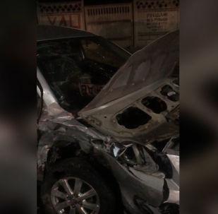 Борбор калаада Toyota Surf жолтандабасы менен Toyota Yaris үлгүсүндөгү жеңил унаа кагышты. Бул тууралуу Бишкектин Жол кыймылы коопсуздугун камсыздоо башкармалыгынан (ЖКККБ) билдиришти.