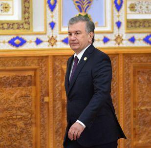 Өзбекстандын президенти Шавкат Мирзиёев. Архив