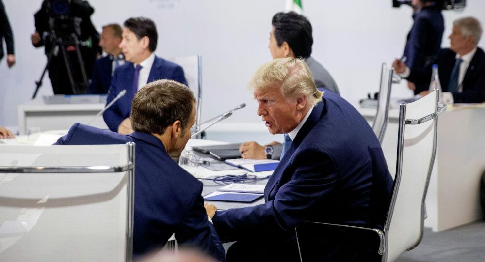 АКШ президенти Дональд Трамп Чоң жетиликтин лидерлери менен