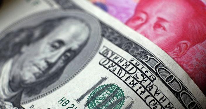 Доллары США и китайский юань