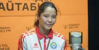 Өспүрүмдөр арасындагы дүйнө чемпионатында күмүш медаль алган Калмира Билимбек кызы. Архив