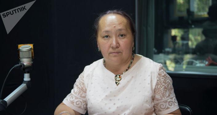 Директор Чуйского областного архива Нурбубу Мамбетакунова
