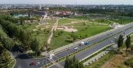 Парк Түштүк магистраль менен Чыңгыз Айтматов проспектисинин кесилишинде жайгашкан. Аянты 10 гектар.