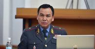 ИИМ министри Кашкар Жунушалиев. Архивдик сүрөт