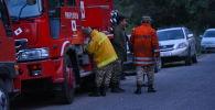 Пожар в национальном парке Ала-Арча