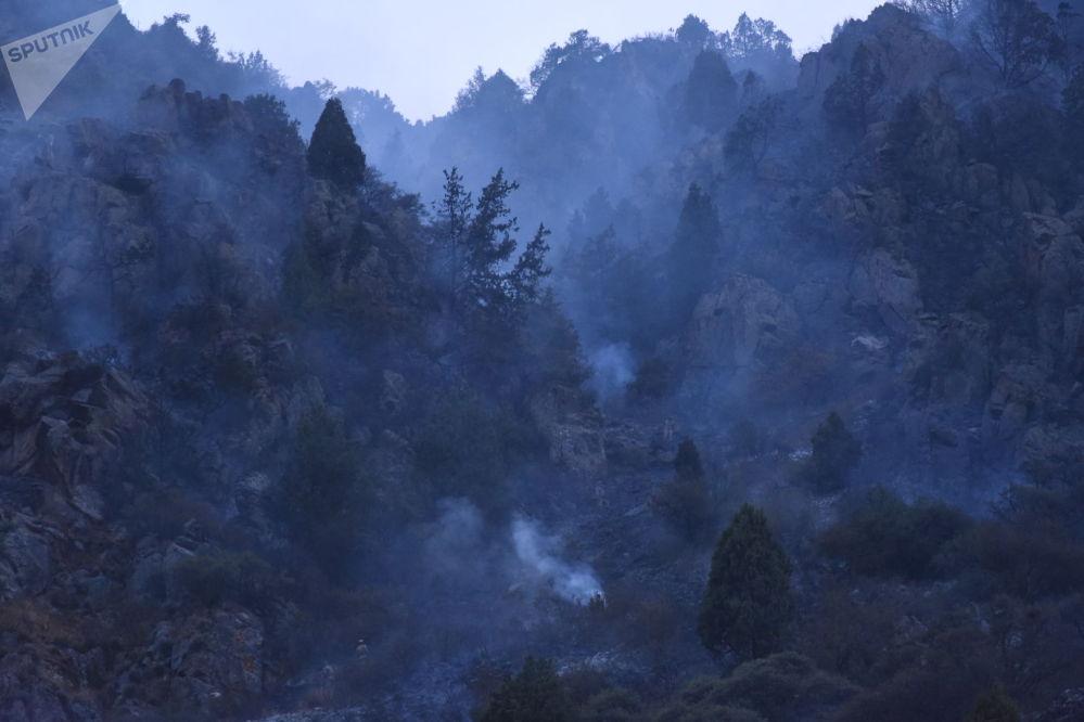 Сообщение о пожаре в Ала-Арче поступило в МЧС 31 августа в 14:55