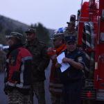 По данным МЧС, загорелось сухотравье на склонах гор