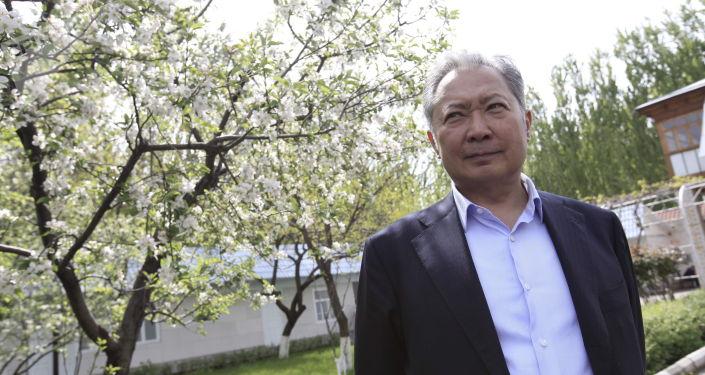 Бывший президент Курманбек Бакиев. Архивное фото